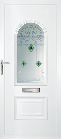 cambridge uPVC Door