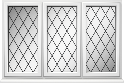 uPVC Diamond Leaded