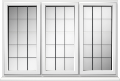 uPVC Square Leaded